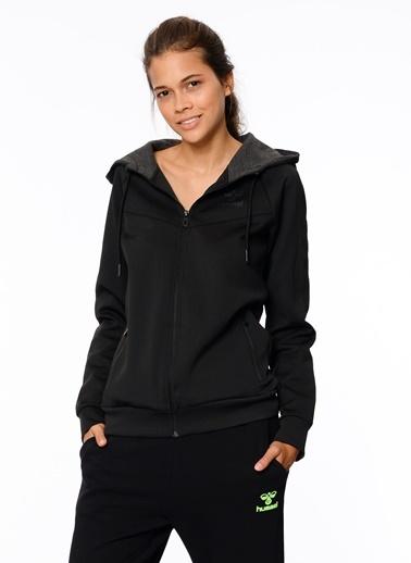 Kapüşonlu Fermuarlı Sweatshirt-Hummel
